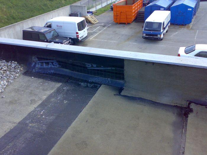 Flachdachsanierung bei Fa. Partsch, Wr. Neustadt